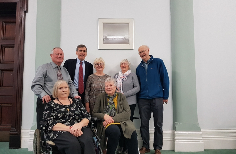 David Rutley MP with local campaigners