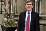 David Rutley MP outside Macclesfield Town Hall
